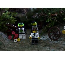 Mr Lego men  Photographic Print