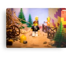 Mr Lego Metal Print