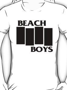 Beach Boys/ Black Flag Shirt T-Shirt