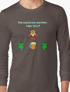 St. Patrick's Day in Hyrule Long Sleeve T-Shirt