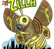 Mothie Zilla by TheArtofScott