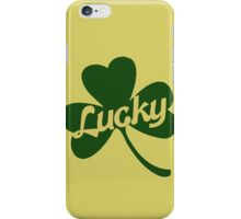 Retro Lucky Shamrock iPhone Case/Skin