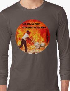 Huggies Fire Long Sleeve T-Shirt