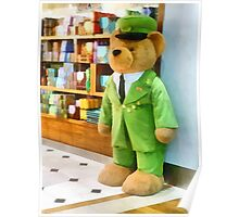 The Harrods Bear  Poster