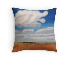 Big sky country with clouds Throw Pillow