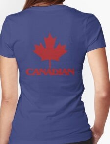 Canadian Womens Fitted T-Shirt