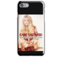 Carrie Underwood The Storyteller Tour 2016 AM1 iPhone Case/Skin