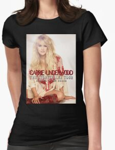 Carrie Underwood The Storyteller Tour 2016 AM1 Womens Fitted T-Shirt
