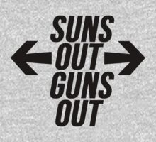 Suns Out, Guns Out by Alan Craker