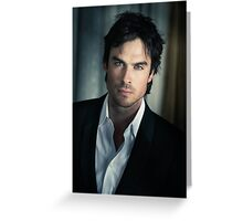 Ian Somerhalder Damon Salvatore Greeting Card