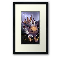 Thunders | サンダース | Jolteon Framed Print
