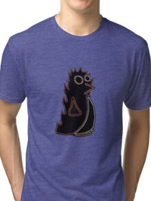 Fire Penguin Tri-blend T-Shirt