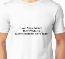 Apple Naming Explained  Unisex T-Shirt