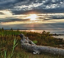 Craigleith at Sunset by lmcarlos