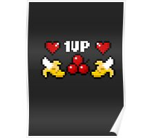 getwell fruit 1up  Poster
