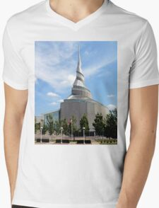 Amazing Architecture - Temple of Community of Christ Mens V-Neck T-Shirt