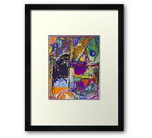 It Comes Together Framed Print