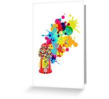 Gumballs & Gumballs & Gumballs Greeting Card