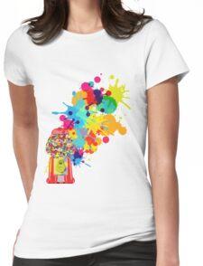 Gumballs & Gumballs & Gumballs Womens Fitted T-Shirt