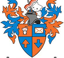 Reddit Coat of Arms with Cat by fortalyst