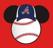 Atlanta Braves Mickey Mouse baseball by sweetsisters