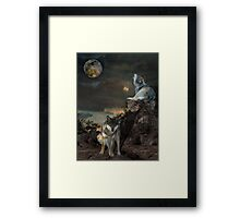 The Bane Moon Framed Print