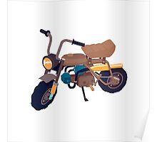 #1 Honda Z50 Poster