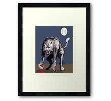 Beastial Werewolf Framed Print
