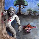The Wolfman ( in colour) by mattycarpets