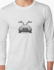 #4 Delorean Long Sleeve T-Shirt