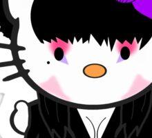 Kitty Of The Dark Sticker
