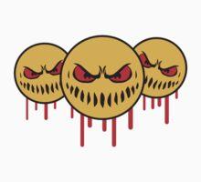 Graffiti team crew party friends evil monsters T-Shirt