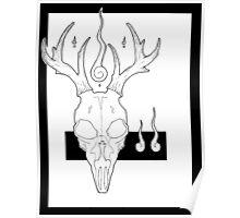 Beasts&Bones- Stag Poster