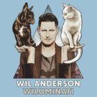 Wil Anderson: Wiluminati 'Ramona and Ziggy' by James Fosdike