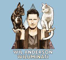 Wil Anderson: Wiluminati 'Ramona and Ziggy' Unisex T-Shirt