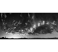 ©HCS Infinite Sunset With Many Faces Of Clouds IV In Monochrome RBc Photographic Print