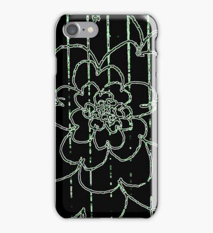 Matrix Flower iPhone Case/Skin
