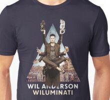 Wil Anderson: Wiluminati 'Triangle' Unisex T-Shirt
