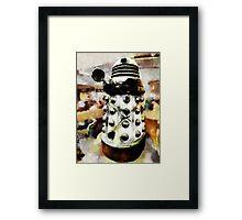 The Dead Dalek Display  Framed Print