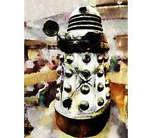 The Dead Dalek Display  Photographic Print
