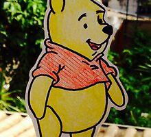 Pooh Case by Felipe Rejman