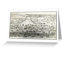 AUSTIN TEXAS 1844 Greeting Card