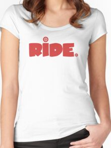 Ride. Women's Fitted Scoop T-Shirt