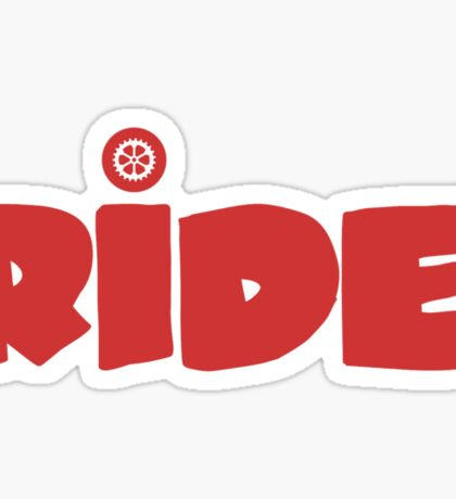 Ride. Sticker