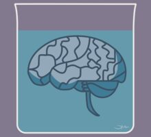 Brain in a jar (blue) T-Shirt