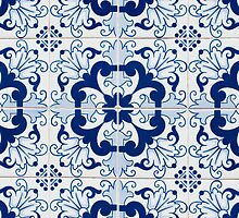 Portuguese glazed tiles by homydesign