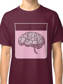 Brain in a jar (pink) Classic T-Shirt