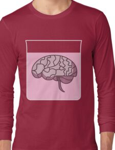 Brain in a jar (pink) Long Sleeve T-Shirt