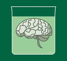 Brain in a jar (green) Unisex T-Shirt