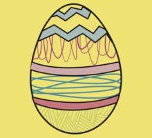 Easter by BLANKTOBAM Kids Tee